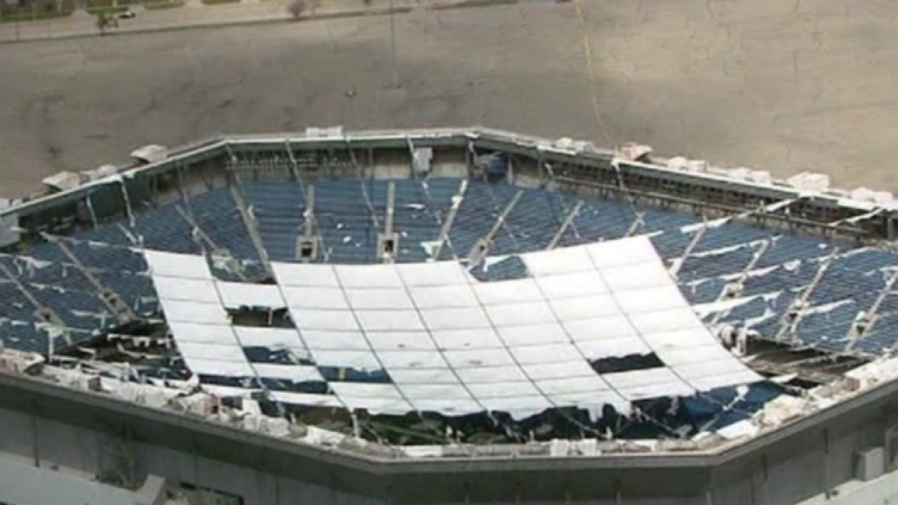 Former NFL stadium Pontiac Silverdome implosion set for Sunday morning