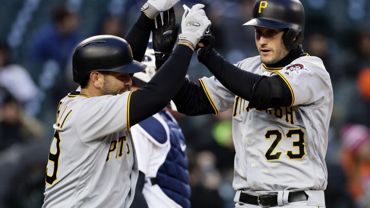 Pirates beat Tigers to sweep doubleheader, series