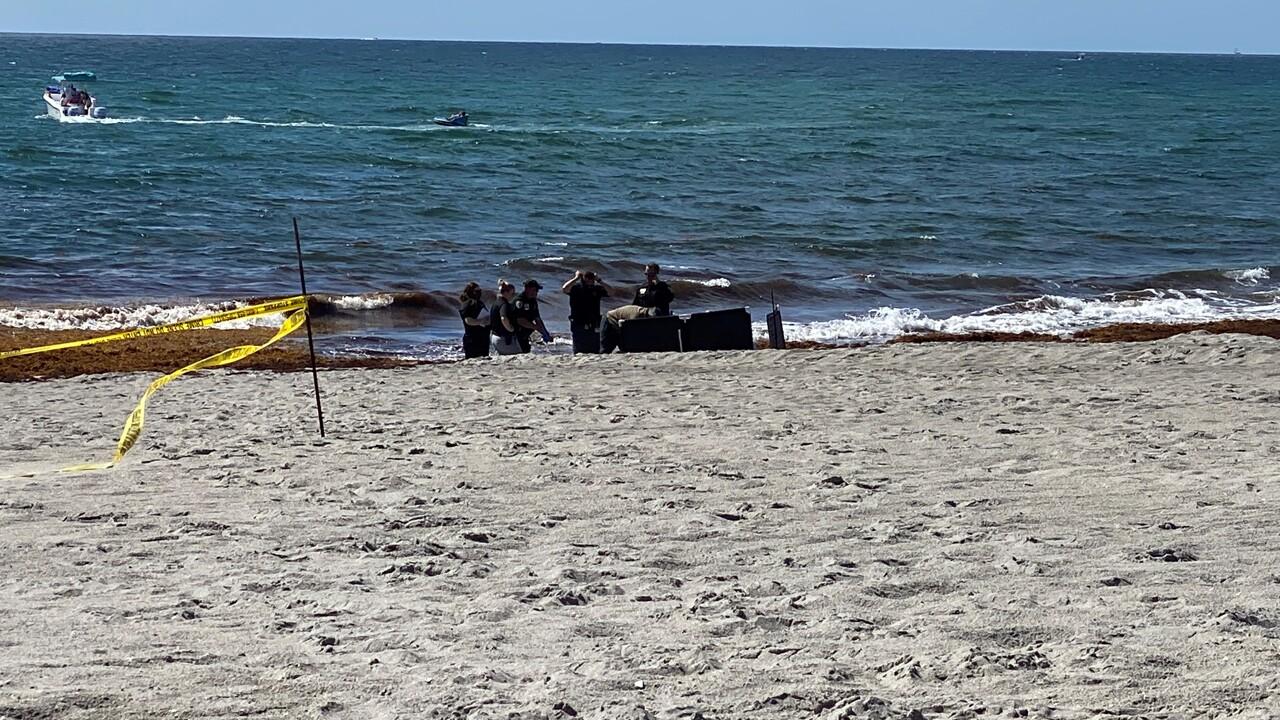 Body found floating in water near Boca Inlet