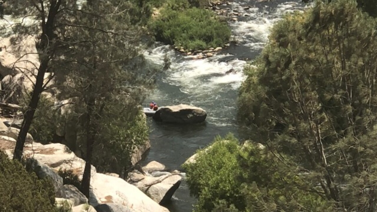Body found in Kern River identified as Jared Jamaal Andrews Jr.