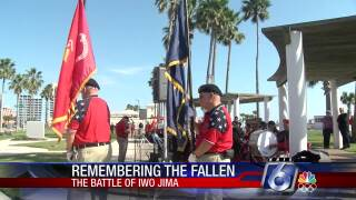 Battle of Iwo Jima remembrance ceremonies