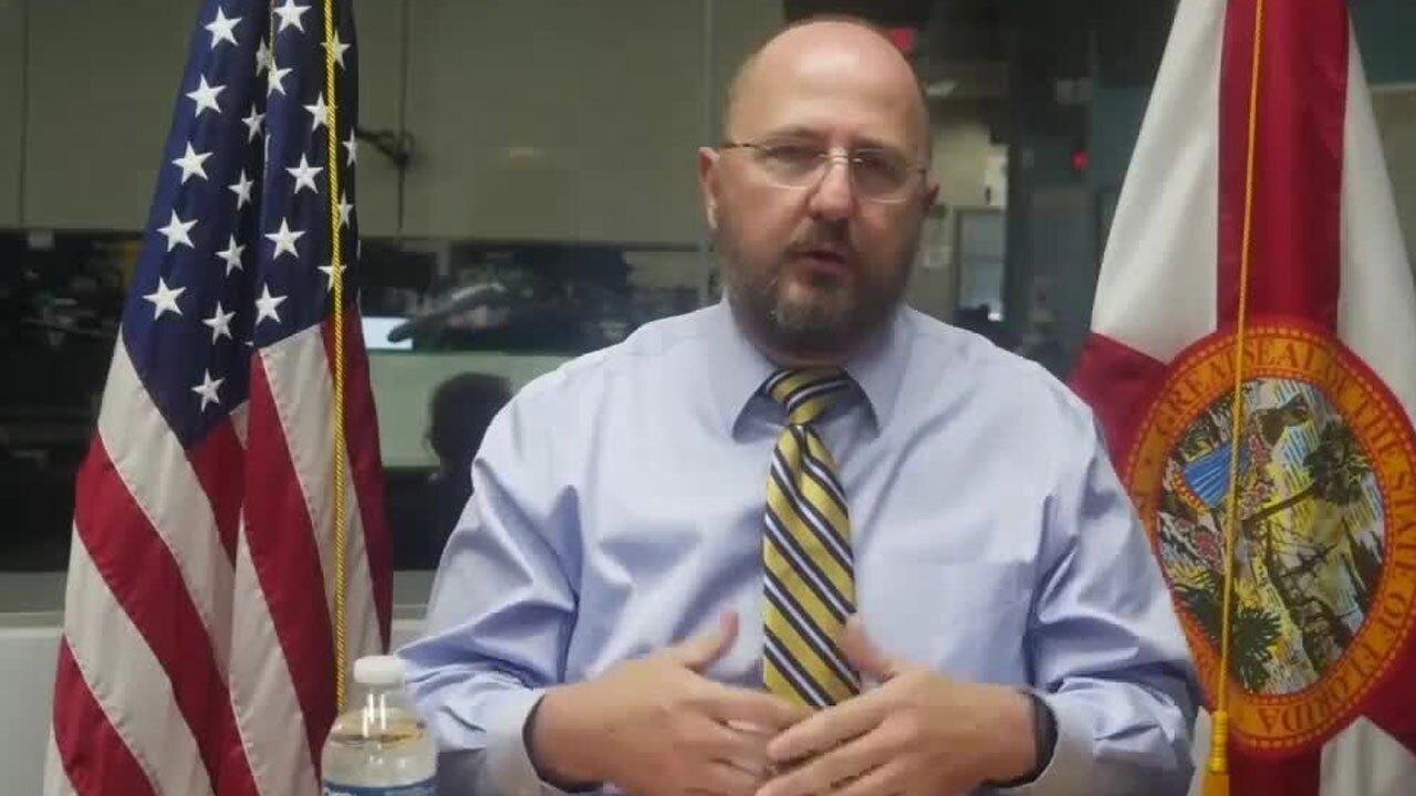 Florida Emergency Management Director Kevin Guthrie