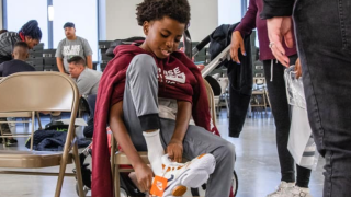 LeBron James Family Foundation shoe reward