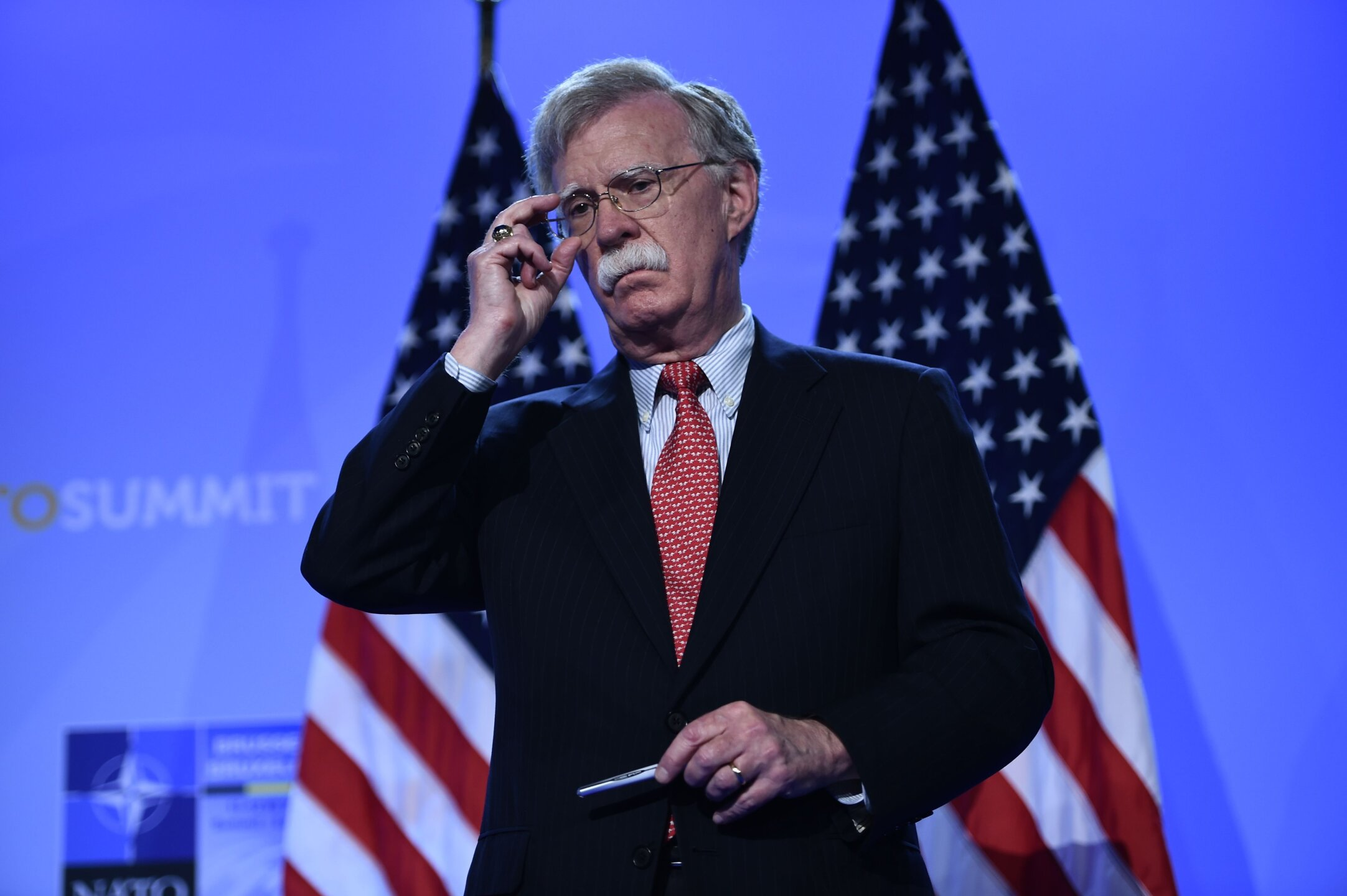 Photos: President Trump fires National Security Adviser JohnBolton