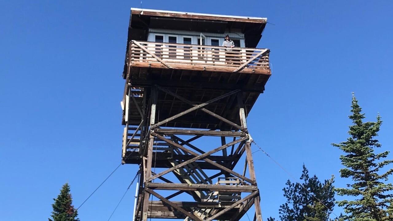 Bald Mountain fire tower
