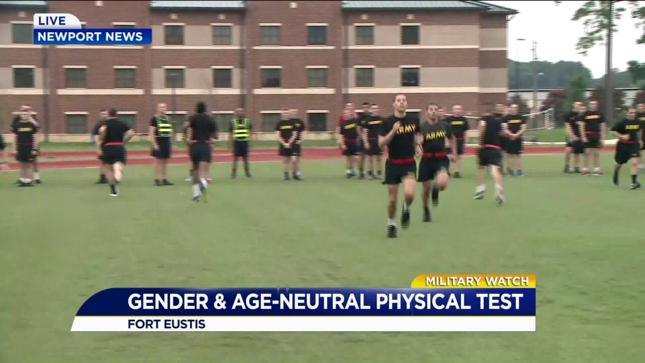 Army rolls out new age and gender neutral combat fitnesstest