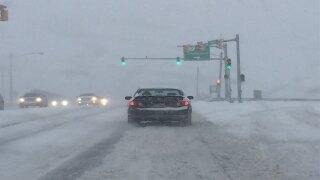 VIDEO & PIX | Snow falls across Northeast Ohio