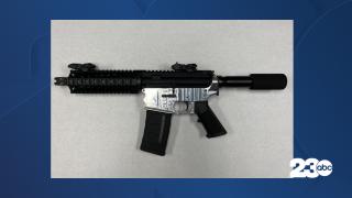 Gun Seized During Police Pursuit, July 15, 2021