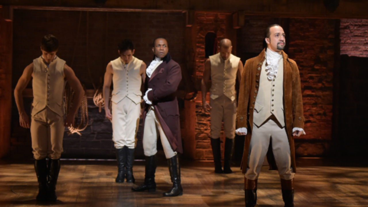 Broadway musical 'Hamilton' is coming to Milwaukee