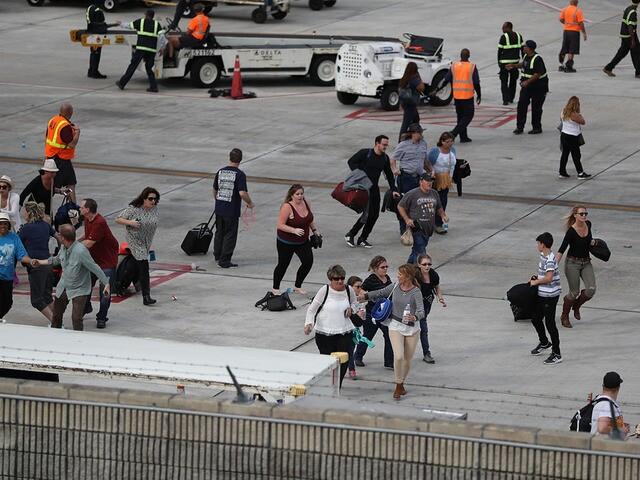 PHOTOS: Shooting at Fort Lauderdale International Airport