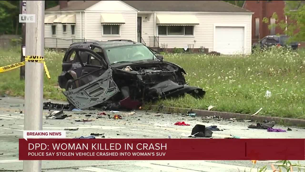 Stolen vehicle causes fatal crash in Detroit.jpg