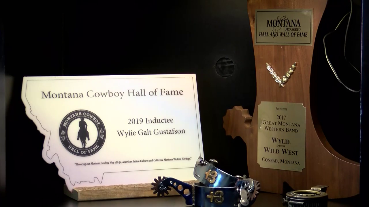 In 2020, Wylie Gustafson was inducted into the Montana Cowboy Hall of Fame