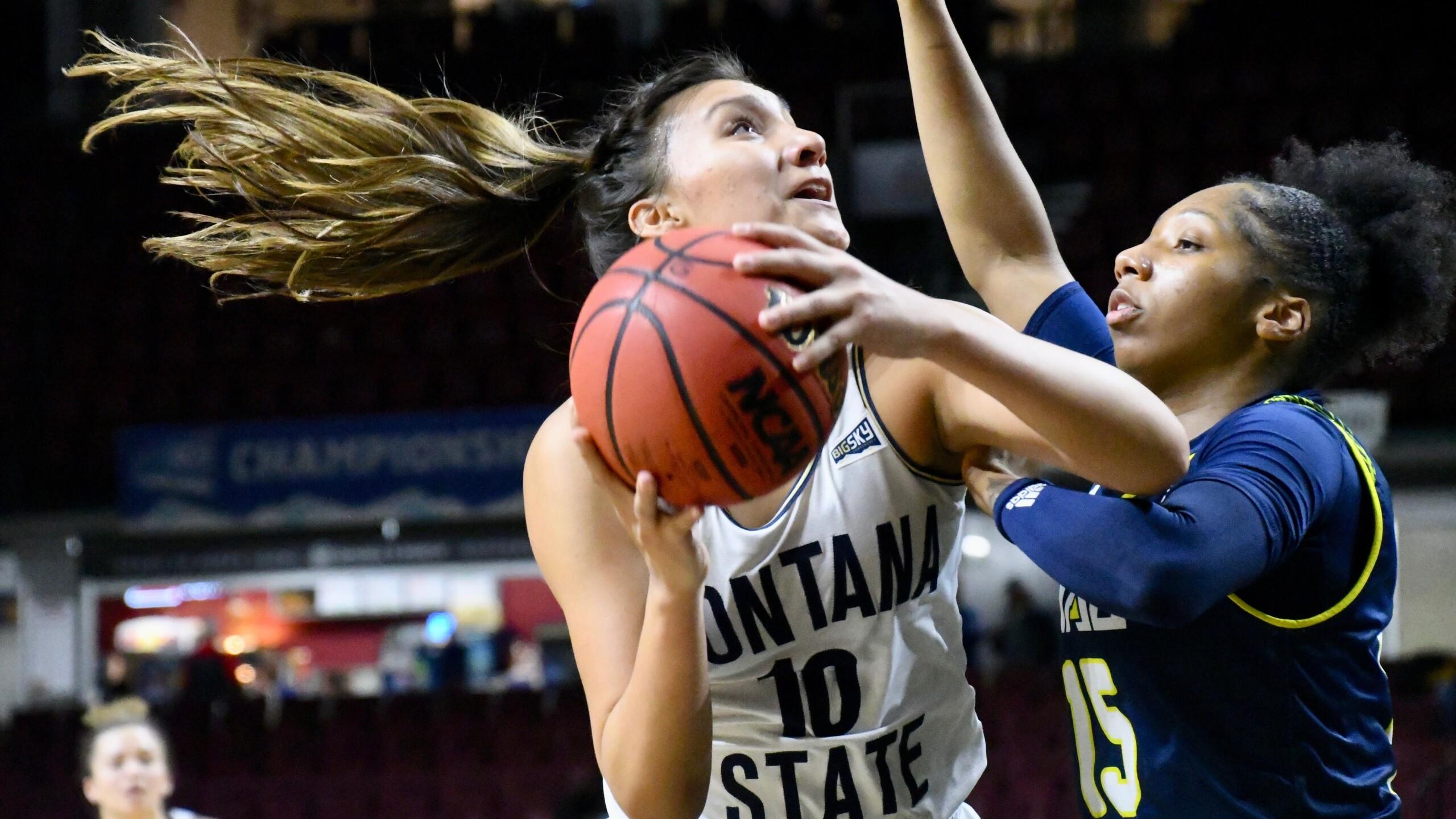 Montana State Bobcats vs. Northern Arizona Lumberjacks - Big Sky Conference women's basketball semifinal