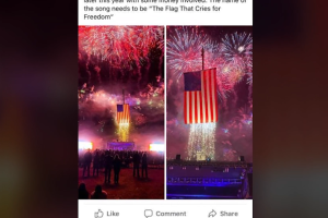 Let Freedom Ring concert Facebook post
