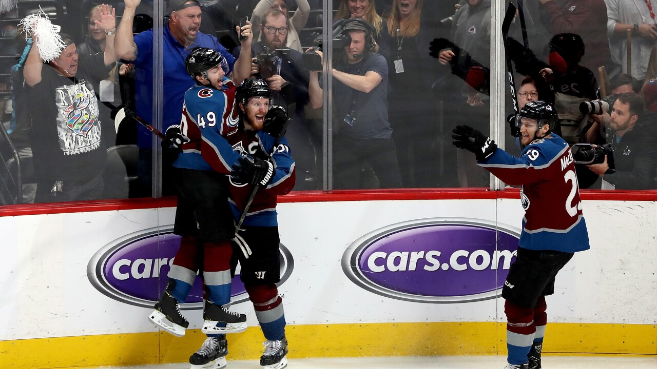 San Jose Sharks v Colorado Avalanche - Game Six