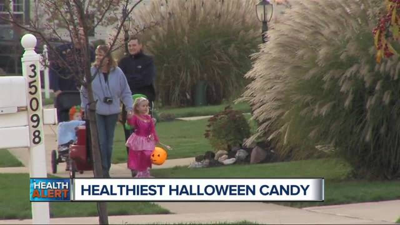 Nutritionists rank Halloween candy