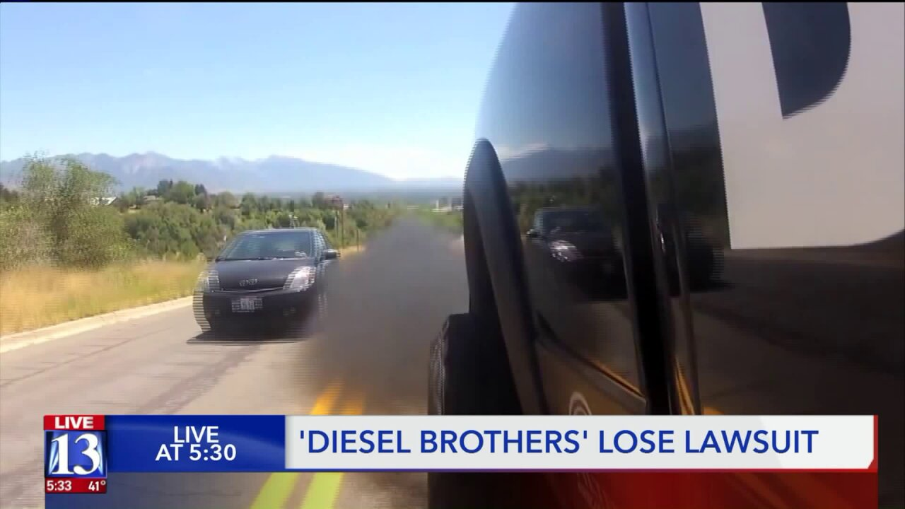 'Diesel Brothers' held liable for violating Clean Air Act by selling modified vehicles