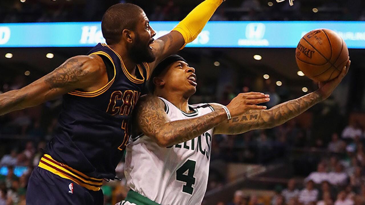 2c0e78fd10f0 Social media reacts to the Cavs trading Kyrie Irving to Boston Celtics for Isaiah  Thomas