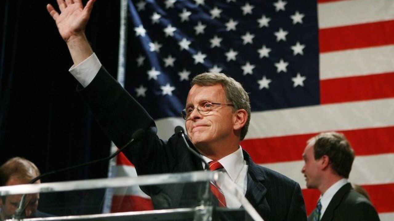 DeWine elected governor of Ohio