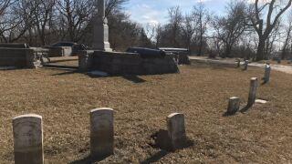 veteran headstones graves kinsman memorial fairview cemetery council bluffs