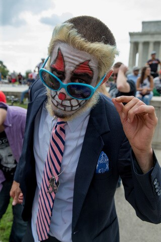 PHOTOS: 'Juggalos' march on D.C. in protest of FBI identification