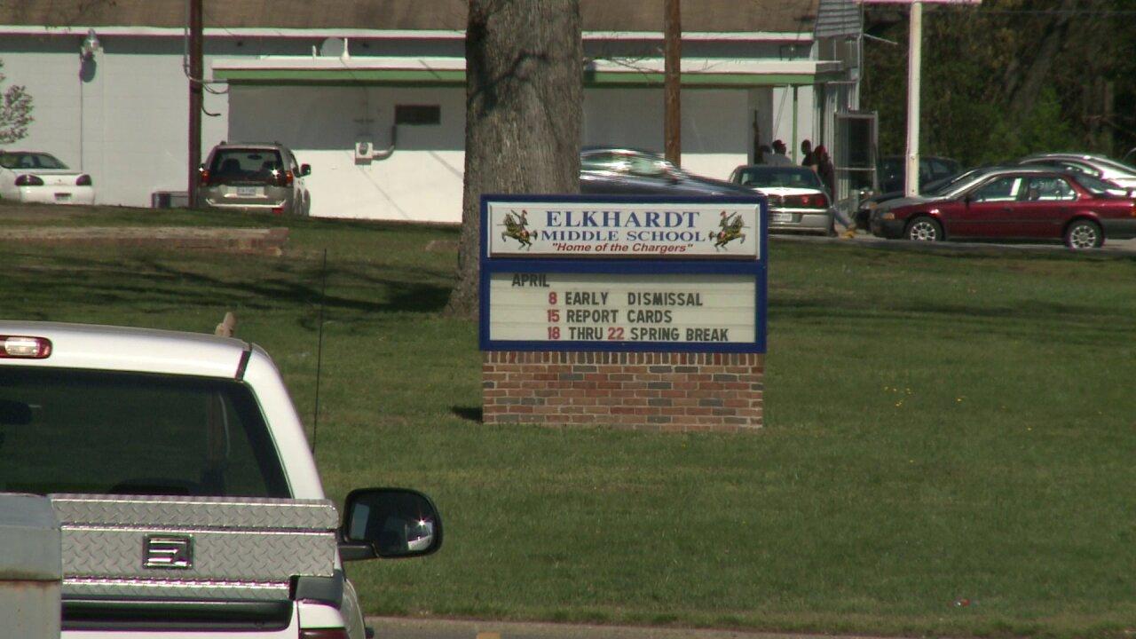 Parents fret over last minute move out of Elkhardt MiddleSchool