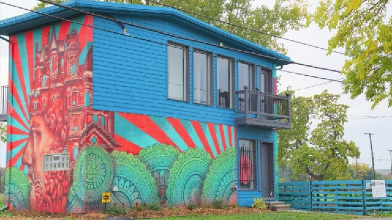 PHOTOS: See the weirdest homes in Detroit