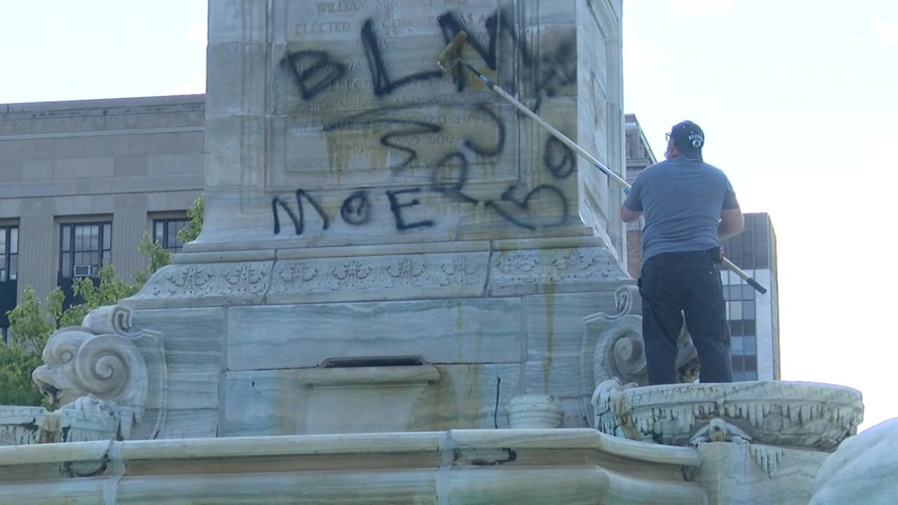 Niagara Square Clean Up