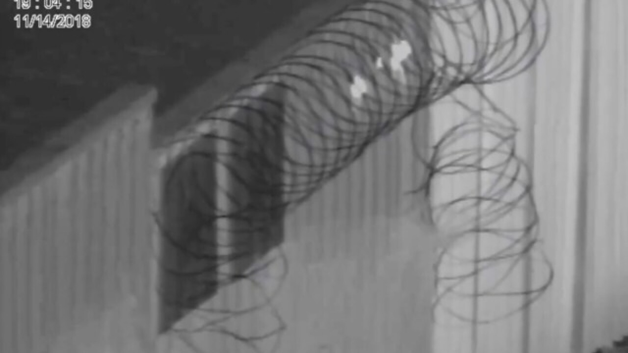Video shows men damaging wire at U.S.-Mexico border fence