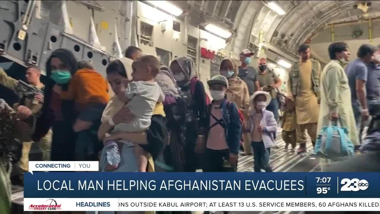 Tehachapi man helps families in Afghanistan August 26, 2021