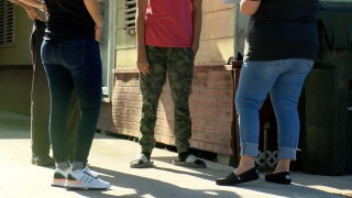 Absent students receive home visit from CCISD