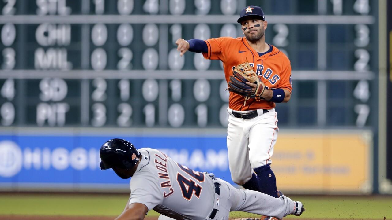 Jose Altuve Tigers Astros Baseball