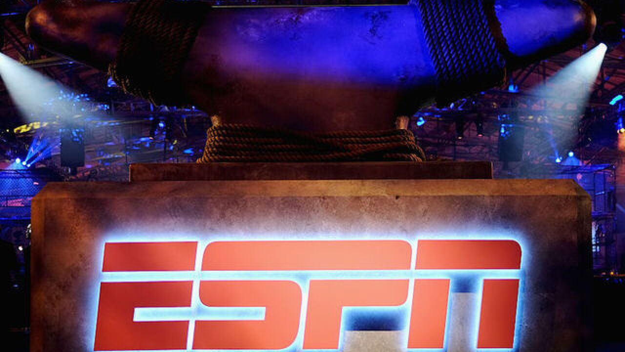 ESPN announces layoffs of about 150 people