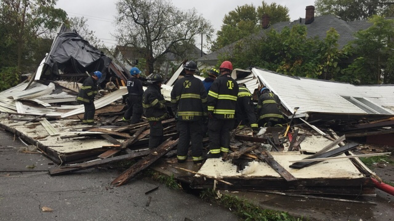 Former candy story collapses on near NE side