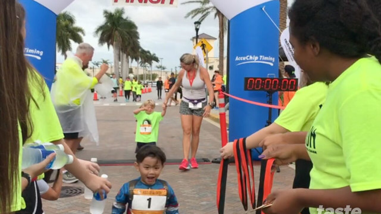 Racers participate in the Phantom 5K, Monster Mile and Devil Dash