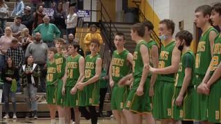 Broadus boys basketball team