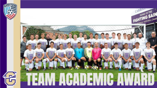 Carroll men's soccer team earns USC Team Academic Award