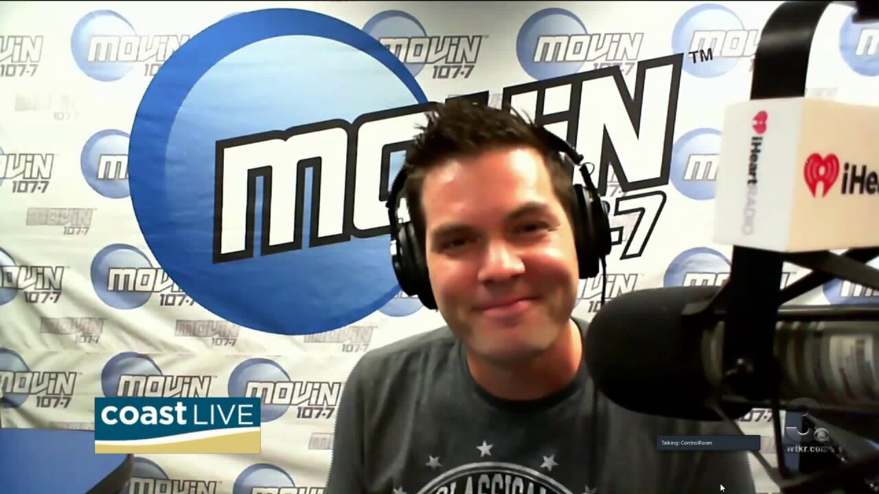 "Music news with ""Some Guy Named Tias"" from MOViN 107.7 on Coast Live"