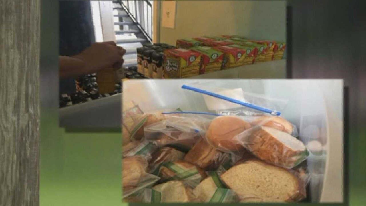 Summer Lunch Program Serves Refugee Children