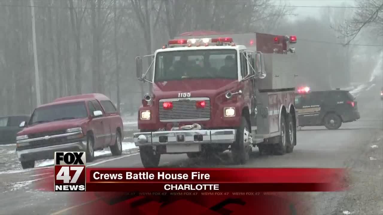 Charlotte house fire