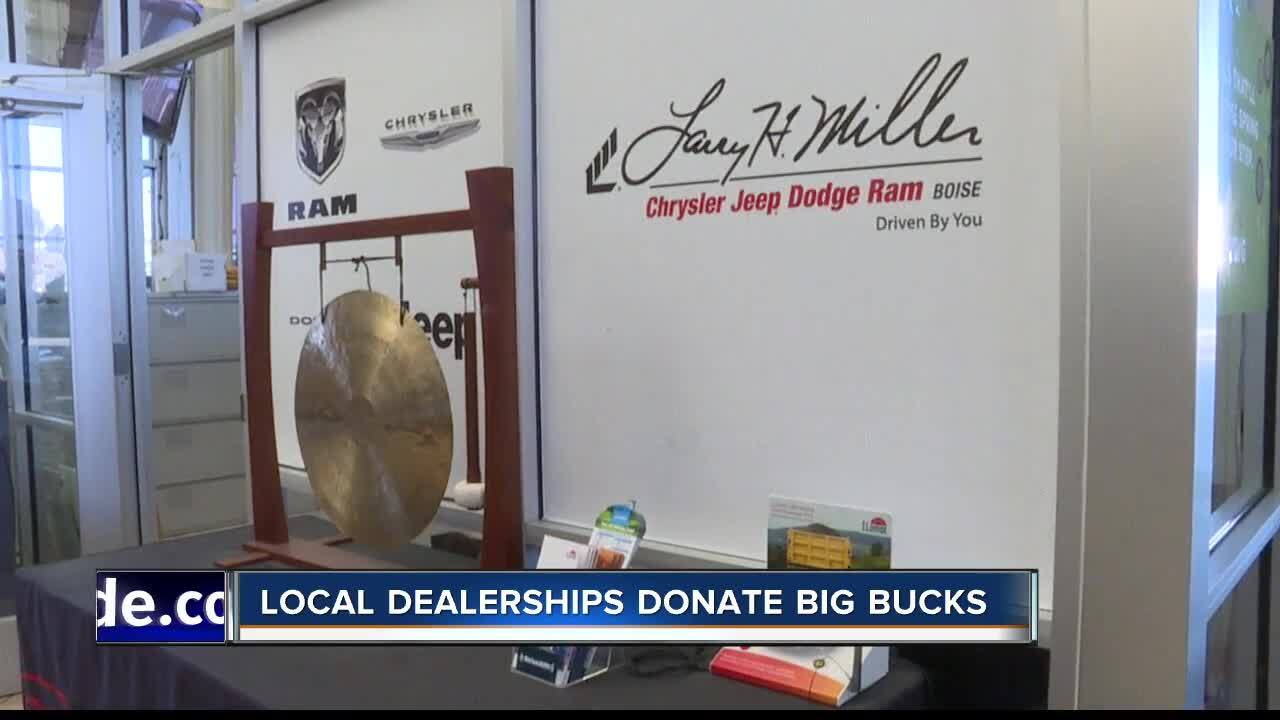 Larry Miller Dodge Boise >> Larry H Miller Dealerships Donate Big Bucks To Non Profits