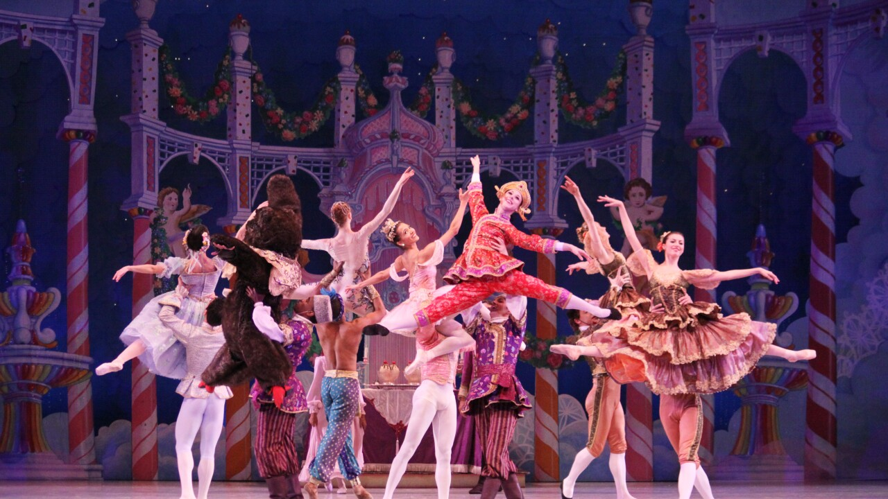 Richmond Ballet dancers in The Nutcracker- Photo by Sarah Ferguson