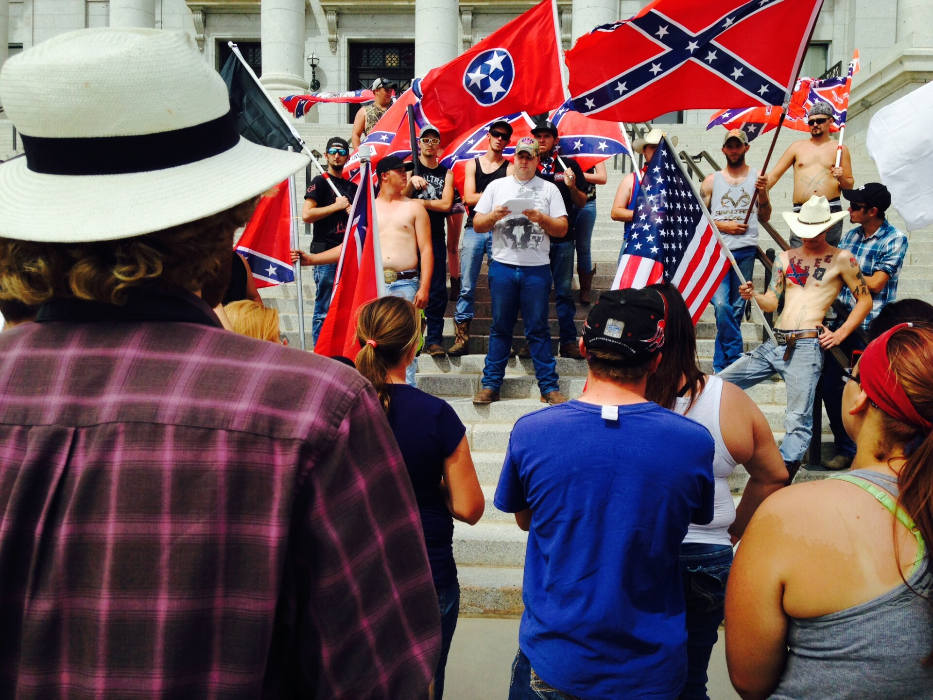 Photos: 'Salt Lake Confederates' cruise to State Capitol to show support of flag