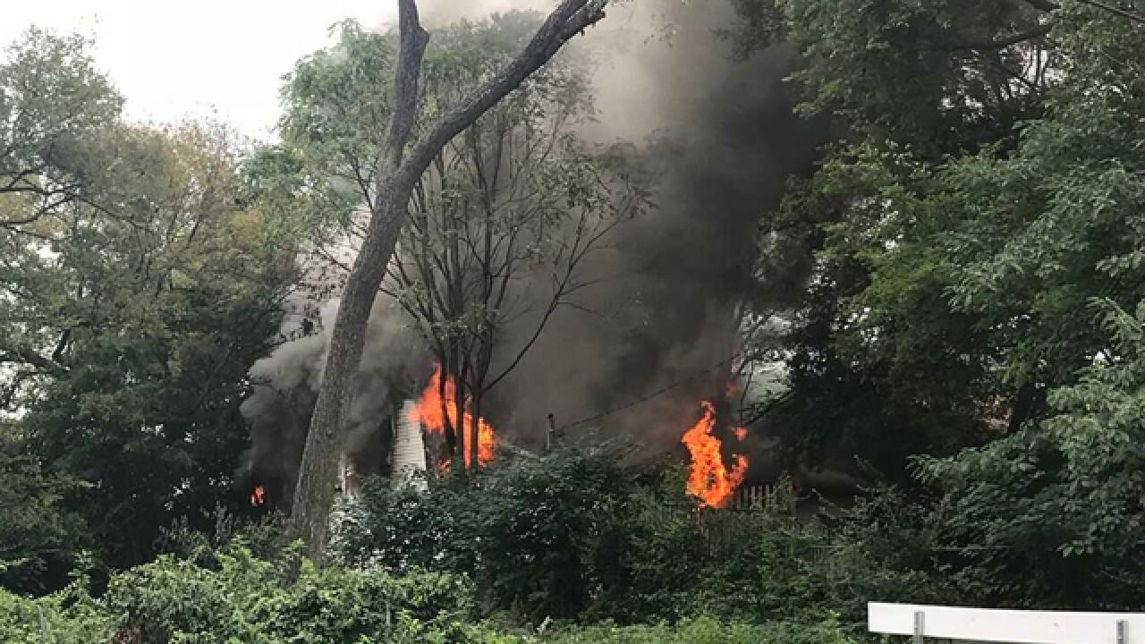 Elderly Man, Nephew Escape North Nashville House Fire