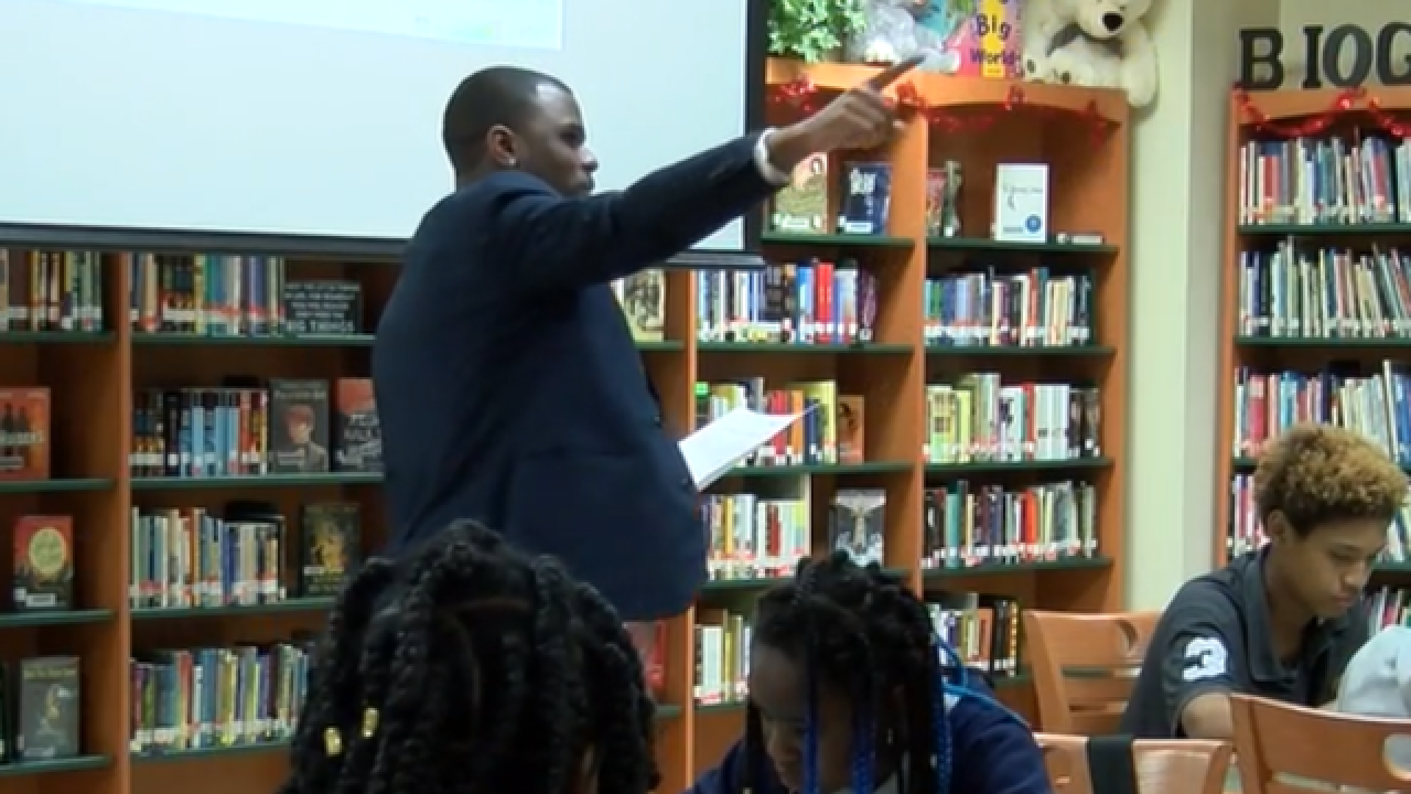 Local filmmaker Alcee Walker brings anti-bullying message directly to Palm Beach County schools