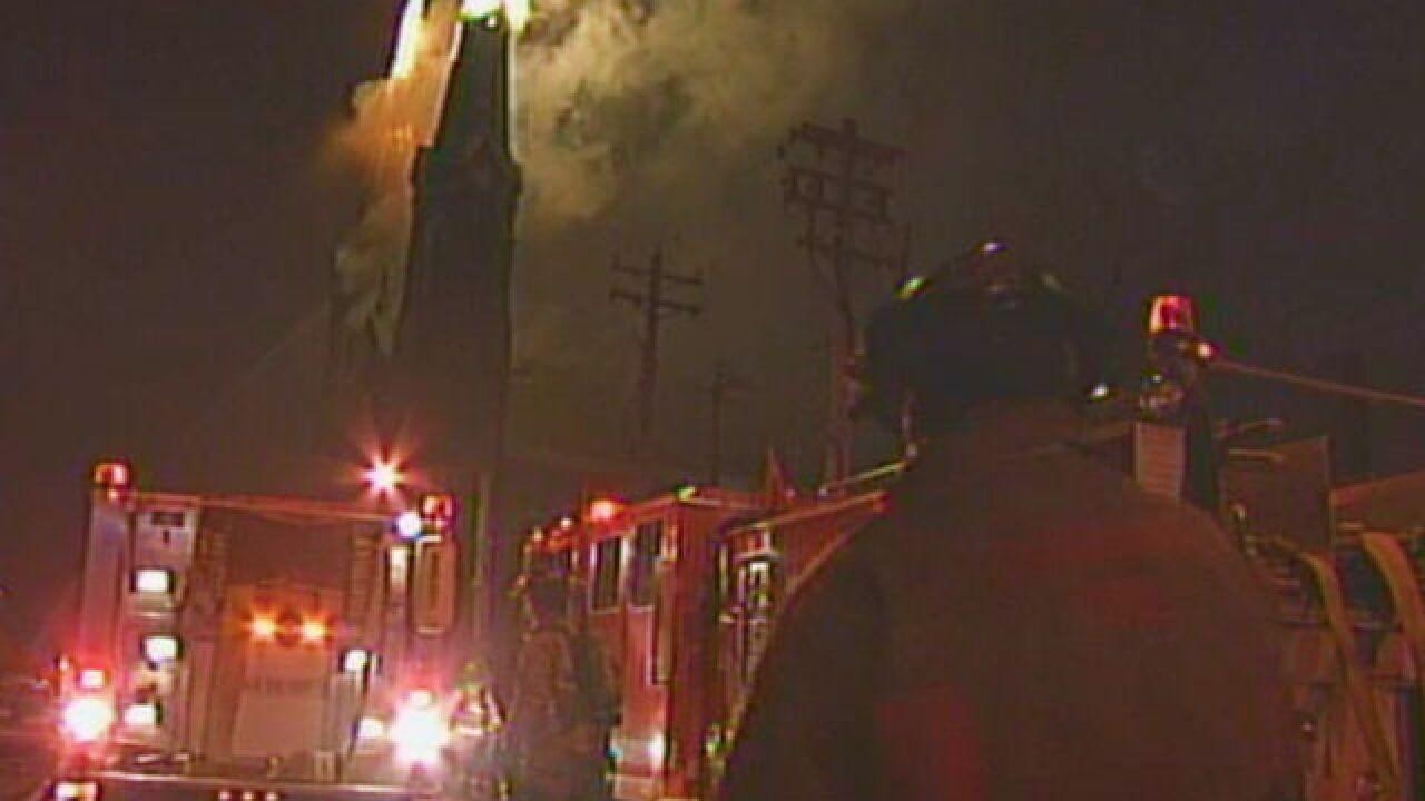 The Vault: Fire destroys historic church spires