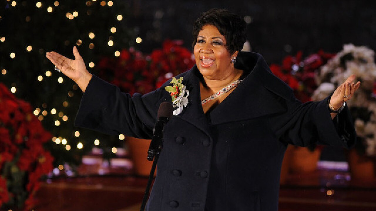 Aretha Franklin in hospital and gravely ill