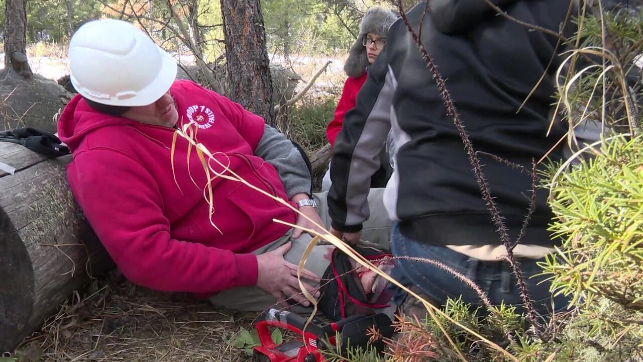 Boy Scouts test survival skills (video)