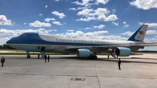 Air Force One in Green Bay