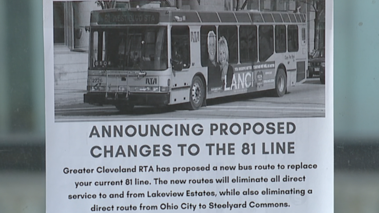 Some local RTA riders concerned about proposed route changes